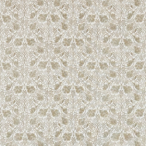 Morris & Co Grapevine Linen/Ecru Curtain Fabric 224475