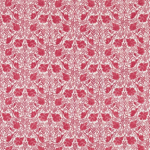 Morris & Co Grapevine Rose Curtain Fabric 224477
