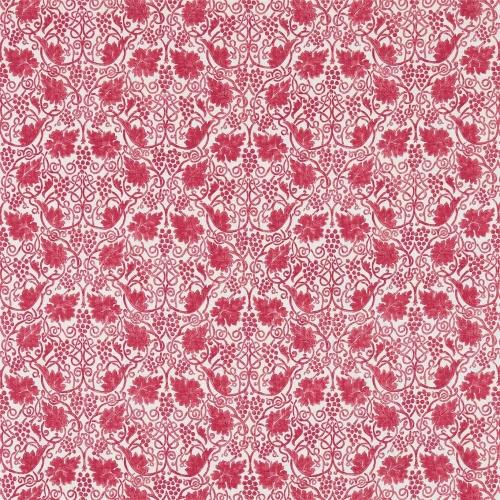 Morris & Co Grapevine Rose Curtain Fabric 224477