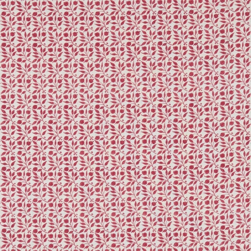 Morris & Co Rosehip Rose Curtain Fabric 224485