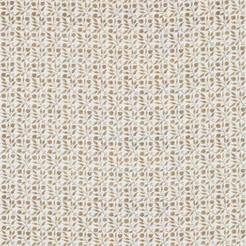 Morris & Co Rosehip Linen/Ecru Curtain Fabric 224487