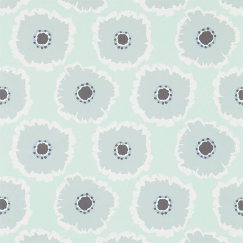 Sanderson Papavera Mineral/Dove Fabric 224617