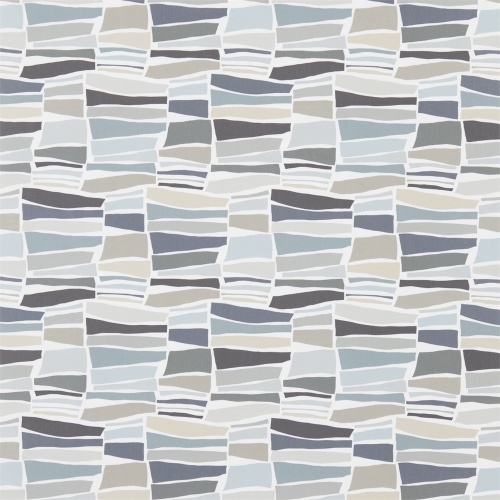 Sanderson Milla Charcoal/Neutral Fabric 224626