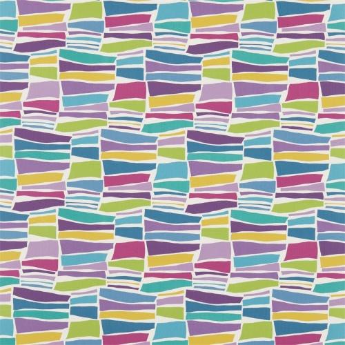 Sanderson Milla Damson/ Multi Fabric 224628