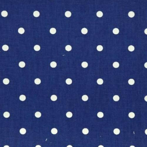 Prestigious Full Stop Sapphire Curtain Fabric