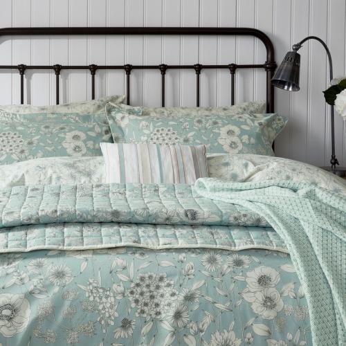 Sanderson Home Maelee Seaflower Duvet Cover Double