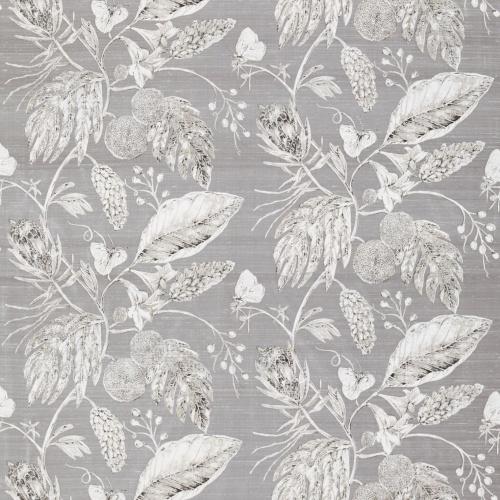 Harlequin Amborella Steel Curtain Fabric 120420
