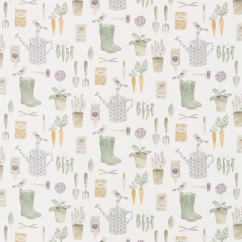 Sanderson Home The Gardener Fig Fabric 226346