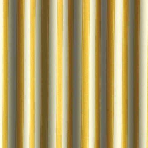 Gordon Smith Ticking Gold Curtain Fabric