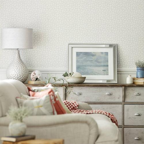 Sanderson Home Cobble Gull Wallpaper 216582