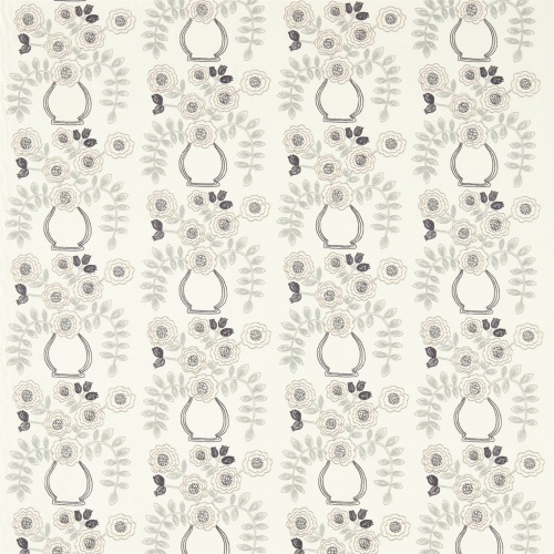 Sanderson Home Flower Pot Mineral Curtain Fabric 235874
