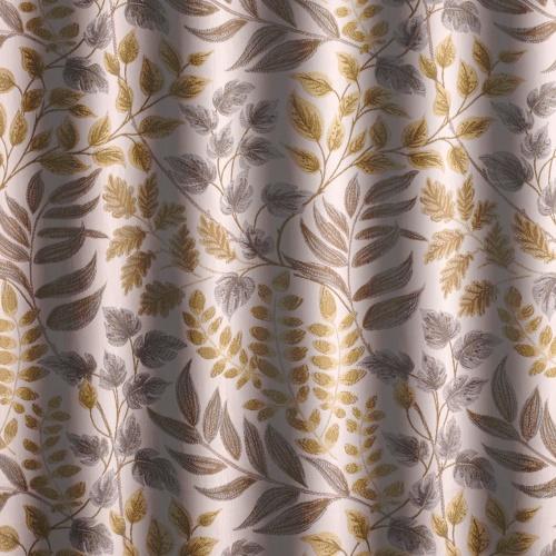 Voyage Listaro Mustard Curtain Fabric