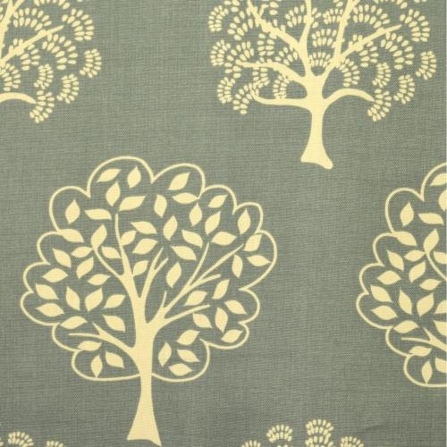 Gordon Smith Arbre Duck Egg Curtain Fabric