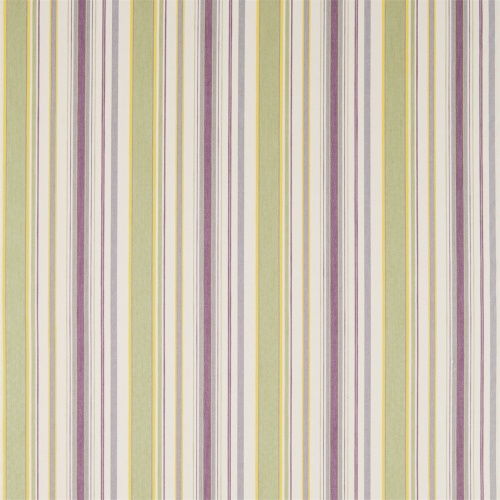 Sanderson Home Dobby Stripe Fig/Olive Curtain Fabric 235898