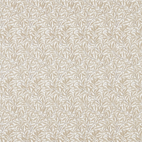 Morris & Co Pure Willow Bough Embroidery Wheat Fabric 236064