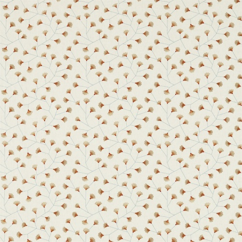 Sanderson Home Gingko Trail Brick Curtain Fabric 235884