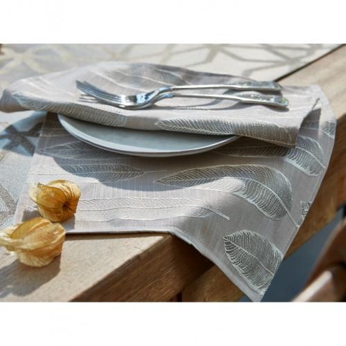 Prestigious Quill Silver Fabric 3742/909