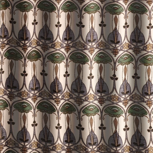 Voyage Belle Epoque Petrol Small Fabric 2.6m Remnant