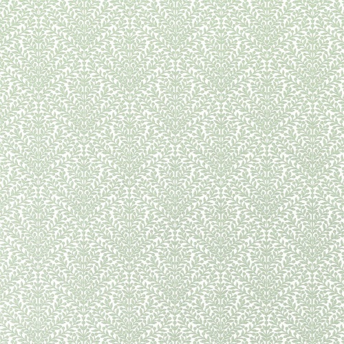 Sanderson Orchard Tree Weave Fountain Green Fabric 237205