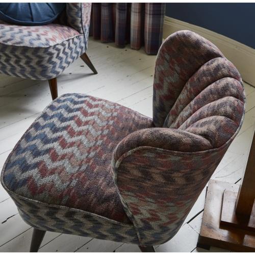 Prestigious Roscoe Redwood Fabric 3692/327