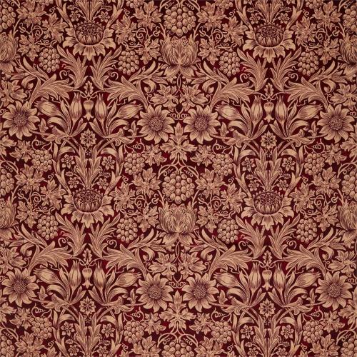 Morris & Co Sunflower Velvet Kermes/Birch 236928