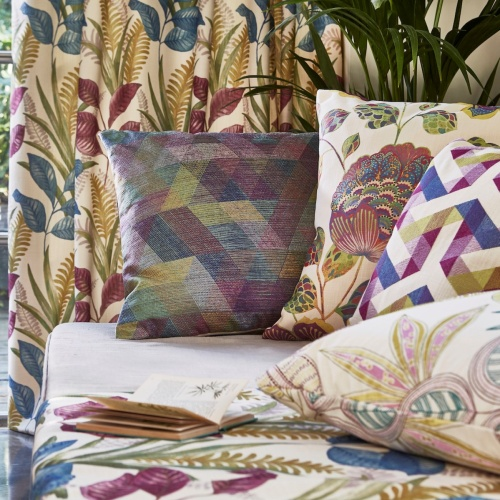 Prestigious Kuba Coral Fabric 3845/406
