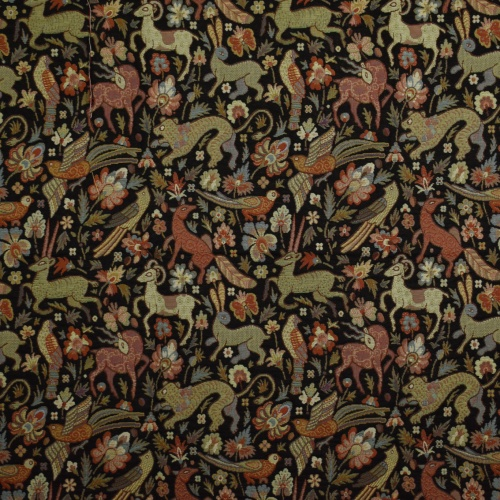 Gordon Smith Bangalore Black Fabric