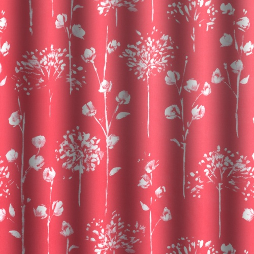 Gordon Smith Blossom Red Fabric