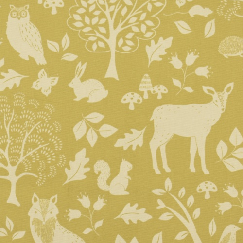 Gordon Smith Outback Gold Curtain Fabric