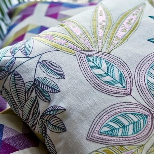 Prestigious Timor Coral Fabric 3850/406