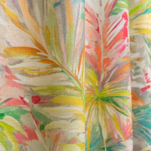 Fibre Naturelle Havana Vinale Curtain Fabric HAV/02