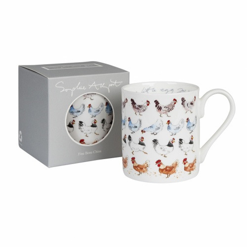 Sophie Allport 'Lay A Little Egg For Me' Large Mug