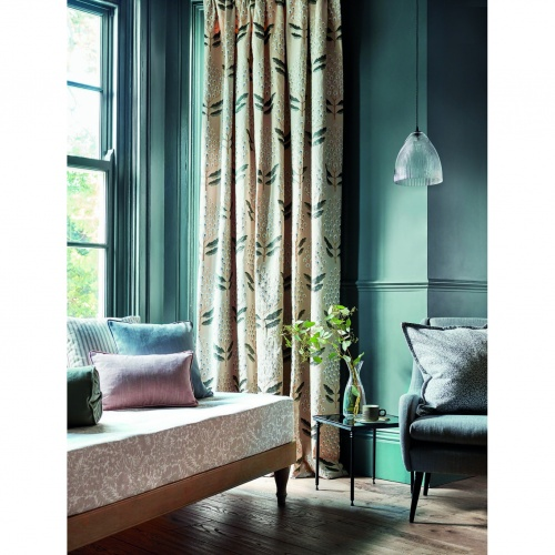 Sanderson Bellis Blue Clay Fabric 237114
