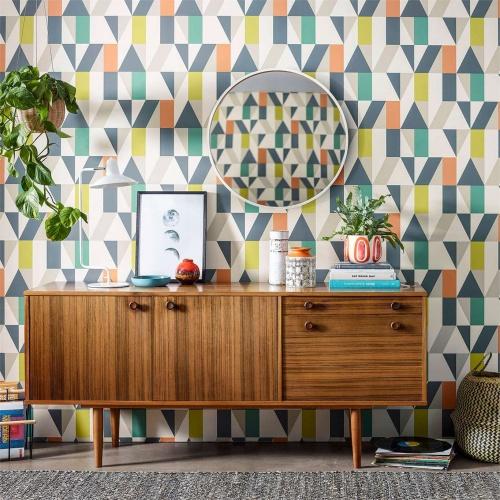 Scion Nuevo Citrus/Paprika/Forest Wallpaper 111829