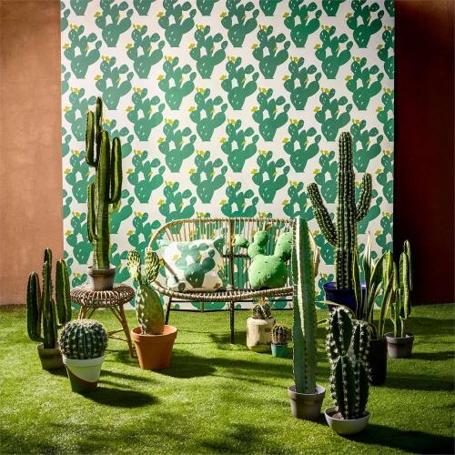 Scion Opunita Forest/Lime Curtain Fabric 120732