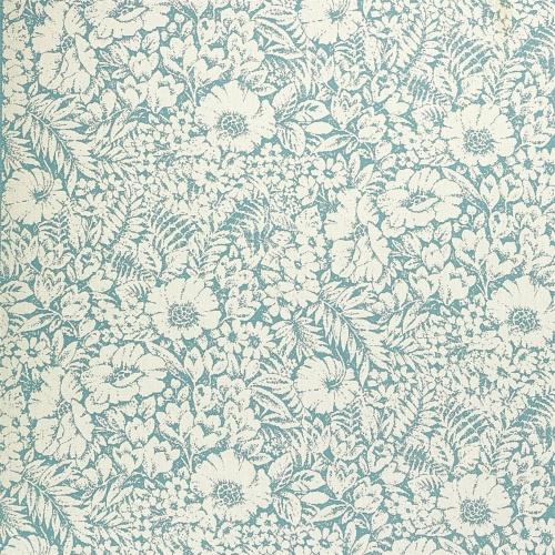 Sanderson Meadow Fields High Sea Fabric 237197