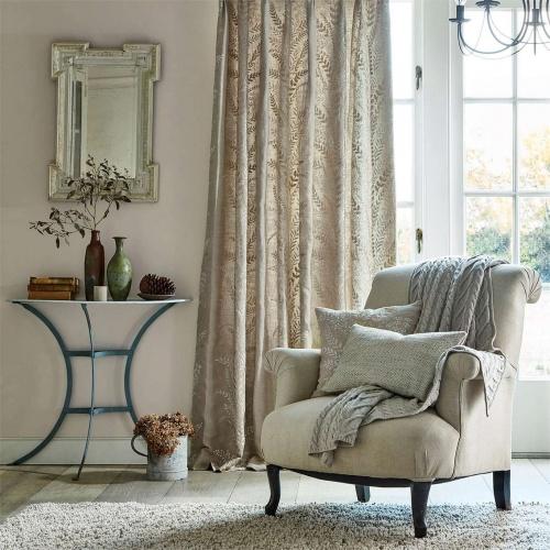 Sanderson Belsay Linen Curtain Fabric 236564