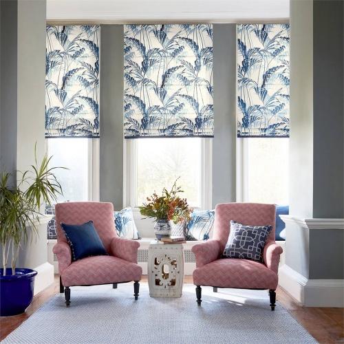 Sanderson Palm House Eucalyptus Fabric 226569
