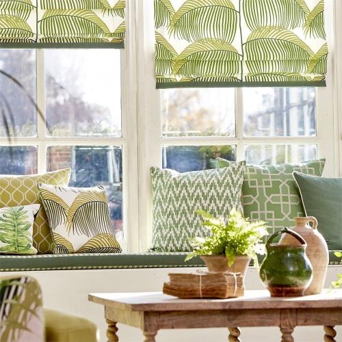 Sanderson Fenne Botanical Green Fabric 236809