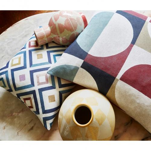 Prestigious Stencil Auburn Fabric 8685/337