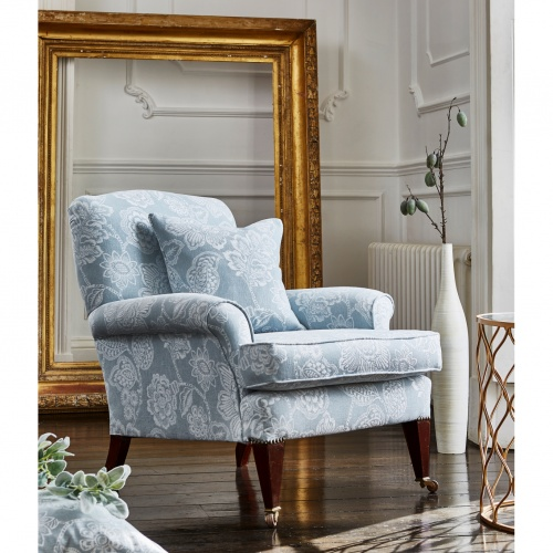 Prestigious Alice Bluebell Fabric 3778/768