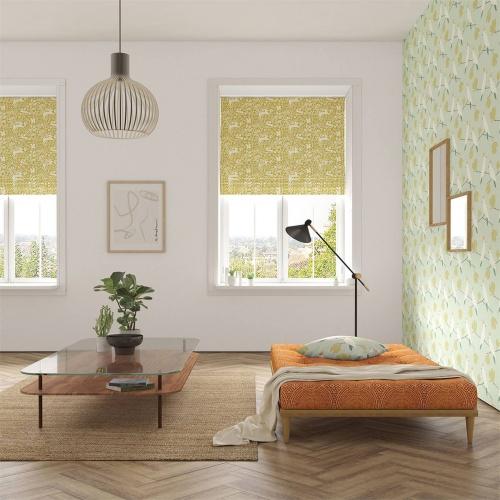 Scion Kelda Grasshopper Fabric 120880