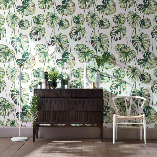 Harlequin Kelapa Emerald/Zest Wallpaper 111753