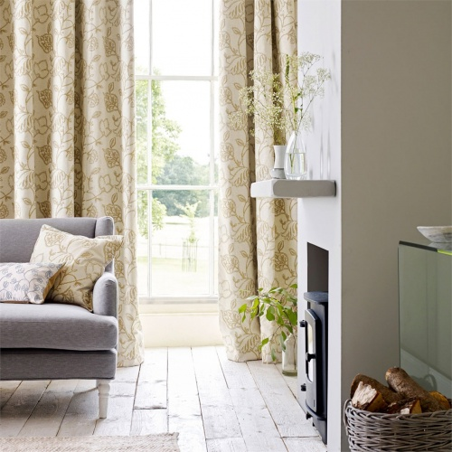 Sanderson Potton Wood Dijon Fabric 236267