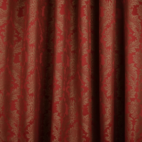 Gordon Smith Damask Red Fabric