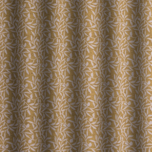 Gordon Smith Leaf Gold Curtain Fabric