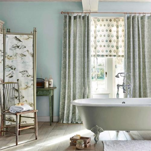 Sanderson Seashore Flint Curtain Fabric 236561