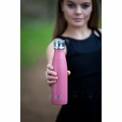 Built 500ml Double Walled Stainless Steel Water Bottle Pink