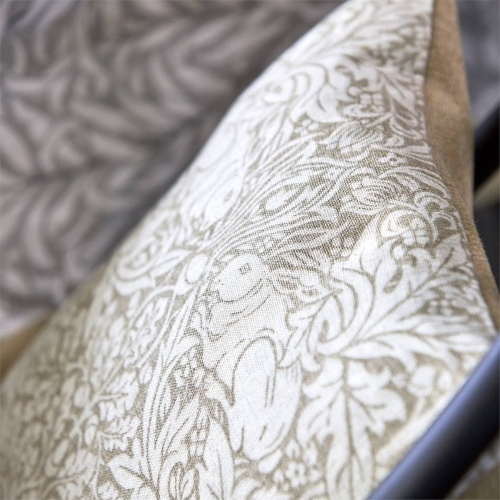 Morris & Co Pure Brer Rabbit Print Linen Fabric 226478