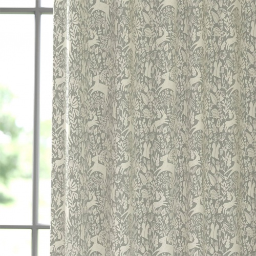 Scion Kelda Pewter Fabric 120894